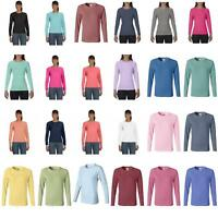Comfort Colors Pigment-Dyed Ladies Long Sleeve T-Shirt. 3014