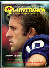 Pro Quarterback # 10 Oct 1972 Fran Tarkenton  Nick Buoniconti Lem Barney   MBX16