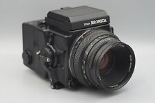 Bronica ETRSi Medium Format Film Camera & Zenzanon Bildungsinformations 75mm f2.8 Objektiv