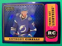 2018-19 OPC Platinum Retro Blue Rainbow Rookie #R-79 Anthony Cirelli 70/149 RC
