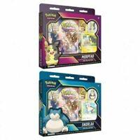 SET OF 2 Pokemon TCG Snorlax & Morpeko Pin Collections NEW SEALED