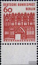 Berlin (West) 247 Unterrandstück postfrisch 1964 Bauwerke