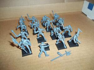 Warhammer Fantasy Empire Free Company Militia x 16  OOP   mordheim