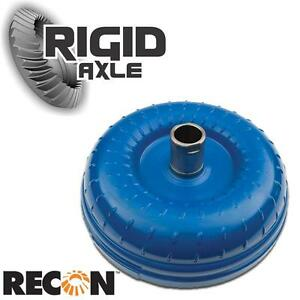 "HD 1300-1500 Stall 13"" Recon OEM Torque Converter Turbo TH400 Transmission 6 Pad"