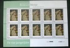 """Persoonlijke postzegels Vier Jaargetijden """"Meisje in een witte kimono"""""""
