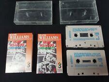 HANK WILLIAMS GREATEST HITS VOL1 AND 2 AUSTRALIAN AUDIO CASSETTE TAPE