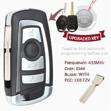 EWS Modified HU58 Remote Key  Fob 433MHz ID44 for BMW E38 E39 E46 M5 X3 X5 Z3 Z4