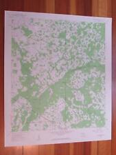 Branchborough Florida 1962 Original Vintage USGS Topo Map