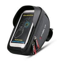 6.5 Borsa Borsetta TUBO anteriore impermeabile Porta Cellulare Bici Ciclismo Bag
