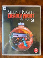 Silent Night Deadly Night Part 2 Blu-ray 1987 Santa Slasher Horror Movie