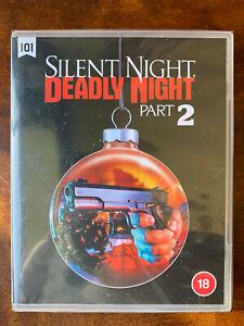 Silent Night Deadly Night Part 2 Blu-ray 1987 Santa Slasher Horror Movie BNIB