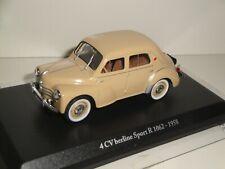 RENAULT 4CV BERLINE SPORT 1958 (1/43 ELIGOR/HACHETTE)