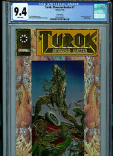 Turok #1 CGC 9.4 NM Gold Logo Variant Valiant Comic 1993 Amricons K17