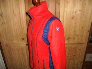 Skijacke Nylon 70er Jahre Anorak glanz retro ski oldschool Jacke vintage 46 M