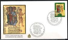 1996-Fdc 1°Jour**Vatican--Année Sainte(2000)-Jésus-Timbre.Yv.1048