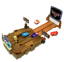 Disney Pixar CARS Desert Track Playset with Car Firing action, Brilliant fun!