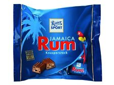 RITTER SPORT - crisp chocolates with real jamaica rum - three (3) bags for you