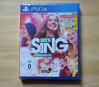 PS4 - Let´s Sing 2017 - Mit deutschen Hits! - (Neuware)