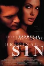 ORIGINAL SIN Movie POSTER 27x40 B Antonio Banderas Angelina Jolie Thomas Jane
