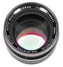 Olympus OM 135mm f4.5 Macro Auto Bellow Lens  #108645