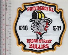 Providence Fire Department Fire Engine 10 & 11 Ladder 5 Broad Street Bullies whi