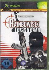 Tom Clancy's Rainbow Six: Lockdown (Microsoft Xbox, 2005, DVD-Box)