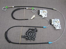 1996-1997 VW GOLF 3 III FRONT LEFT NSF ELECTRIC WINDOW REGULATOR REPLACEMENT SET