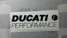 Grandes 2x Ducati rendimiento Tanque Carenado calcomanía libre de correos Reino Unido Muchos Colores