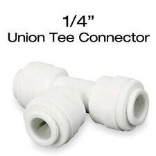 """John Guest Quick Connect Union Tee Connector 1/4"""" - JG irrigation fitting qc"""