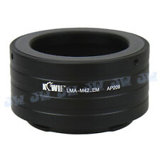 M42 LENS TO Sony NEX3 NEX7 NEX5 NEX5R NEX C3 3N 5N NEX-6 E MOUNT CAMERA ADAPTER