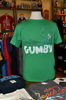 Gumby Lying on Logo Men's T-Shirt