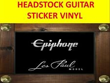 EPIPHON LES PAUL MODEL SILVER STICKER VISIT OUR STORE WITH MANY MORE MODELS