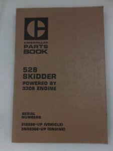 Caterpillar 528 Skidder parts manual. Genuine Cat book.