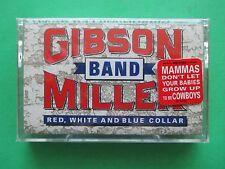 New Sealed Gibson MILLER Band Cassette Music Re White Blue Collar