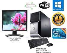 Dell Precision T1500 Computer i7 870 2.93ghz 16gb *NEW 1TB HD Windows 10  FX 580