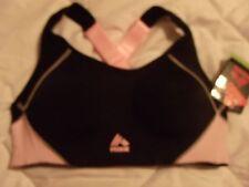 1cd5b57f0a Black W Pink RBX Max Support Sport Bra  NEW  S Sm  40