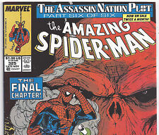 The Amazing Spider-Man #325 Captain America from Nov. 1989 in Fine+ condition NS