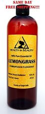 Lemongrass Essential Oil Aromatherapy Natural 100% Pure 32 Oz