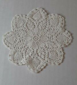 Crochet Doilies Handmade 2 Small Doilies