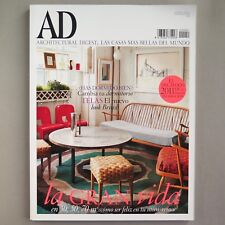 SPANISH AD ARCHITECTURAL DIGEST MAGAZINE January 2011 | Interior Design Spain