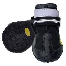 Anti-slip Large Dog Shoes Paw Protector Waterproof Rain Boots Reflective Rubber