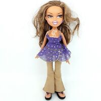 Bratz doll toy Brown Brunette hair Wearing clothes shoes LotJ