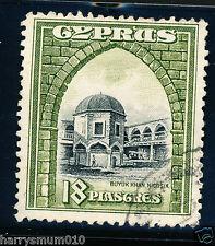 Cyprus 1934 18 Pi stamp  Used