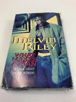 Vintage 1994 Melvin Riley What Makes A Man Wanna Cheat Cassette Tape Single