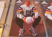 Jörg Albertz, DFB Autogrammkarte 1996, Düsseldorf, HSV, Greuther Fürth, Glasgow