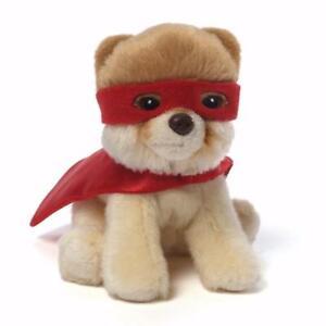 GUND Itty Bitty Boo Super Boo, World's Cutest Dog, Great Gift