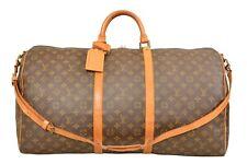 Louis Vuitton Monogram Keepall 60 Bandouliere Travel Bag / Strap M41412 - G00731