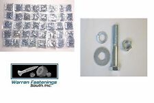 2360 Pieces Grade 5 Coarse Thread Bolt, Nut, Lock & Flat Washer Assortment