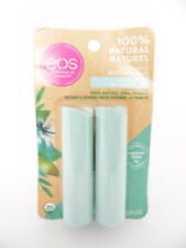 eos 100% Natural Organic Shea Lip Balm Stick - Sweet Mint - 2pk / 0.28 oz