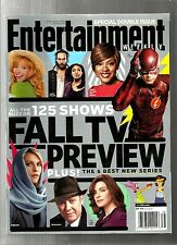 ENTERTAINMENT WEEKLY-9/2014-FALL TV PREVIEW-THE FLASH-GOTHAM-TRANSPARENT-NO ML